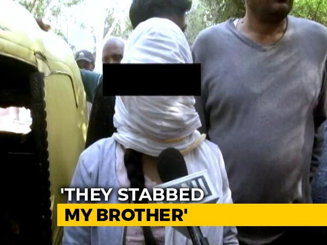 Video : Teen Stabbed By Sister's Stalkers Near South Delhi, Taken To AIIMS: Cops