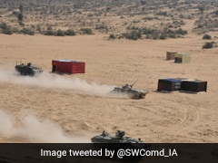 Indo-US Joint Military Exercise ''Yudh Abhyas'' Ends In Rajasthan