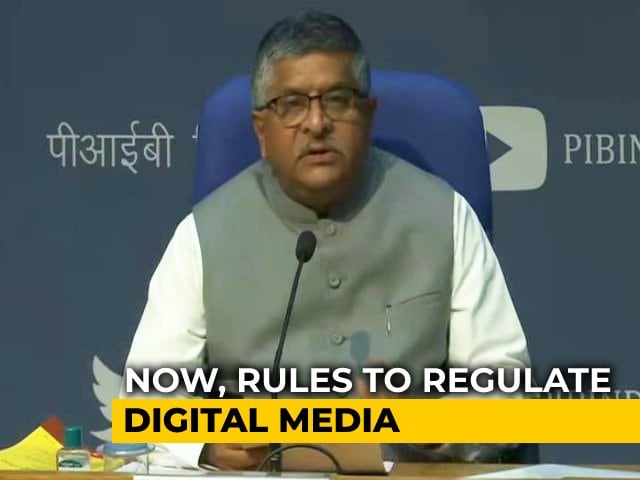 Video : Social Media Platforms and OTT Players Face Strict New Guidelines From Government