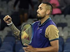 """Australian Open: Tweener, Tickings-Off As """"Pretty Average"""" Nick Kyrgios Wins Melbourne Opener"""