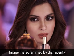 With Smokey Eyes And Red Lips, Diana Penty Has Her Gorgeous Friday Game Face On