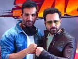Video : John Abraham And Emraan Hashmi Launch <i>Mumbai Saga</i> Trailer