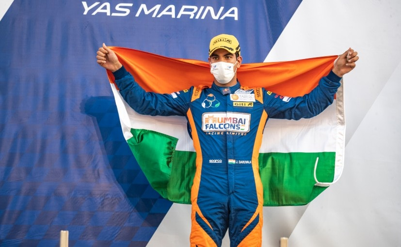 Jehan Daruvala is the first India and Mumbai Falcons is the first Indian team to win at F3 Asia