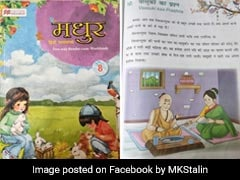 """Aryan Gimmick"": MK Stalin Criticises Thiruvalluvar's Textbook Portrait"