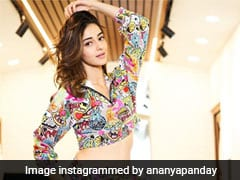 Ananya Panday Is Spreading Vibrant Vibes In This Quirky Co-Ord Set