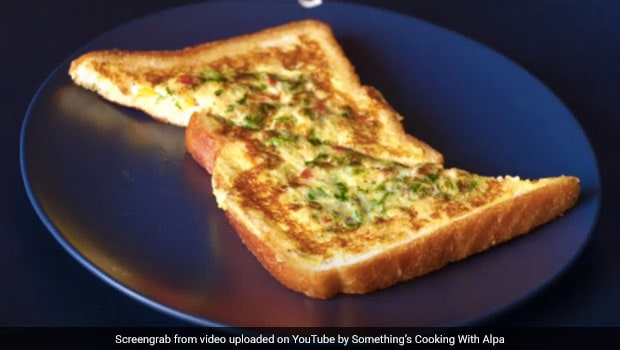 Egg Sandwich Recipe: How To Make 2 Minuts Tasty Egg Sandwich Recipe Protein-Rich Breakfast At Home, Here The Recipe Video