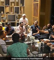 Mayank Agarwal Introduces Fans To Team India's 'Mafia Gang'. See Pic