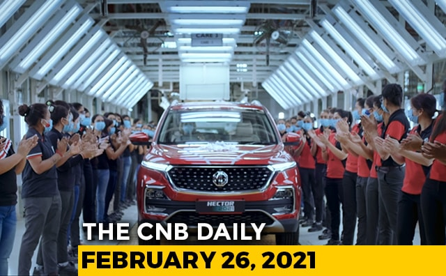 Video : 50,000th MG Hector | Ola Two-Wheeler Plant | Peugeot New Logo