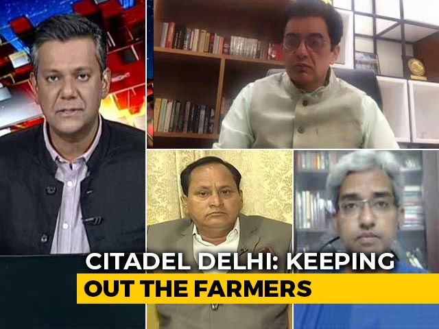 Video : Farmers' Protest: What Signal Does 'Fortress Delhi' Send?