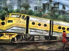 Parineeti Chopra Is <I>The Girl On The Train</i> In This Painting By Her Mom. Pic Inside