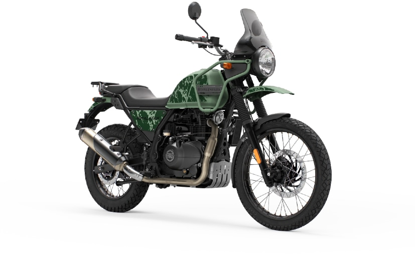 The 2021 Royal Enfield Himalayan gets the Tripper navigation system and minor cosmetic updates