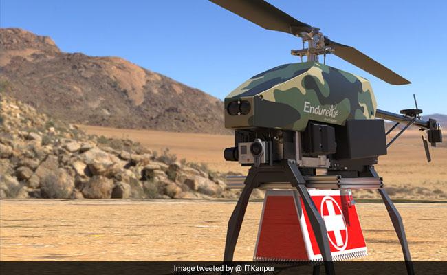 IIT कानपुर ने बनाया 4 किलो का हेलीकॉप्टर, बर्फीली और दुर्गम पहाड़ियों से भी ढूंढ निकालेगा दुश्मन