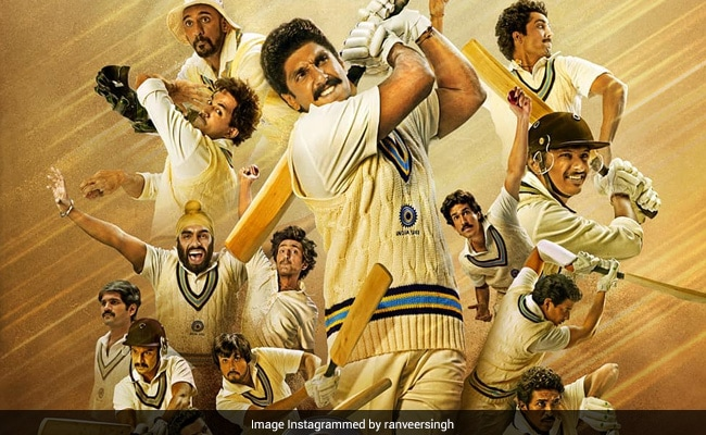 Ranveer Singh's '83 Gets A Release Date: 'See You In Cinemas'
