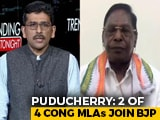 Video: Kiran Bedi Was Interfering In Daily Administration: Puducherry Chief Minister