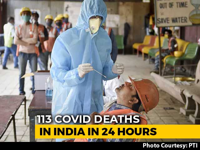 Video : India Records 16,752 New Covid Cases, Biggest Single-Day Jump In 30 Days