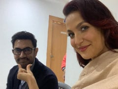 Elli Avram Sums Up Working With Aamir Khan With This Post
