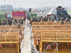 In Pics: Farmers Block Eastern Peripheral Expressway During <i>Chakka</i> Jam; Delhi On High Alert