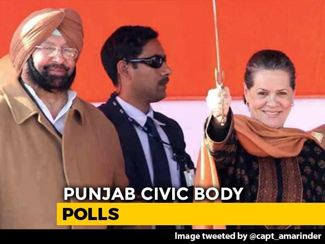 Video : Congress Sweeps Punjab Urban Polls. Amarinder Singh Says '2022 Teaser'