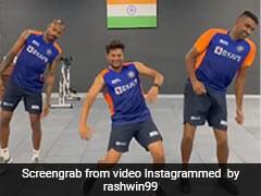 Watch: Ravichandran Ashwin, Hardik Pandya, Kuldeep Yadav Dance On 'Vaathi Coming' Song From Tamil Movie Master