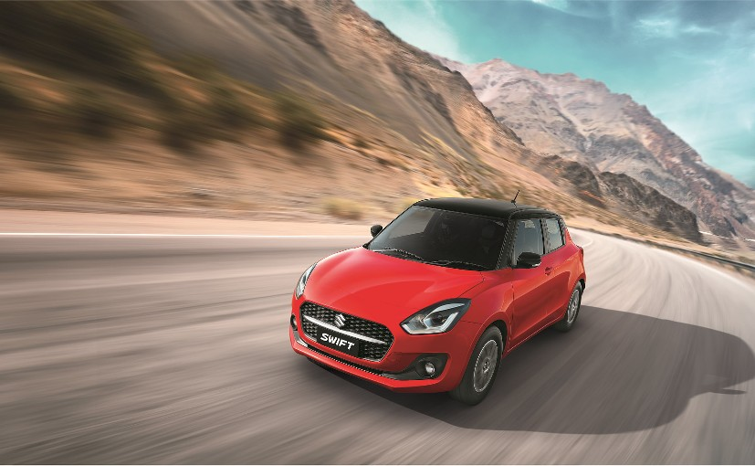 The 2021 Maruti Suzuki Swift facelift gets both manual and AMT versions