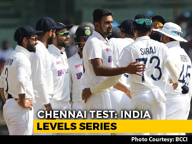 Video : India Thrash England By 317 Runs To Level Series At 1-1
