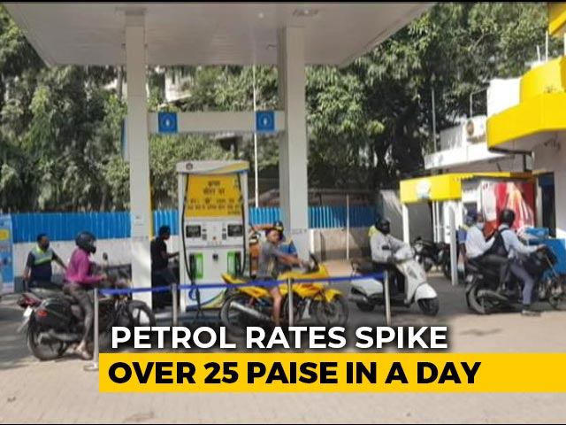 Video: Petrol, Diesel Prices Touch New Highs; Petrol Scales Rs 95 Mark In Mumbai
