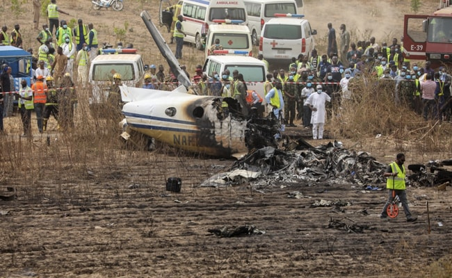 7 Killed In Nigerian Military Aircraft Crash