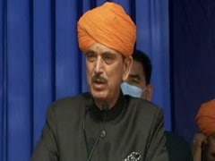 Congress Workers Stage Protest Against Ghulam Nabi Azad In Jammu