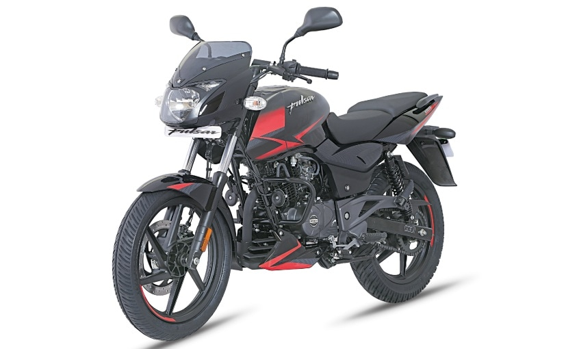 The 2021 Bajaj Pulsar 180 is available in just one colour - Black Red