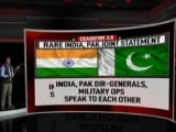 Video : Rare Phone Call That Led To India-Pak Deal To Stop Cross-Border Firing