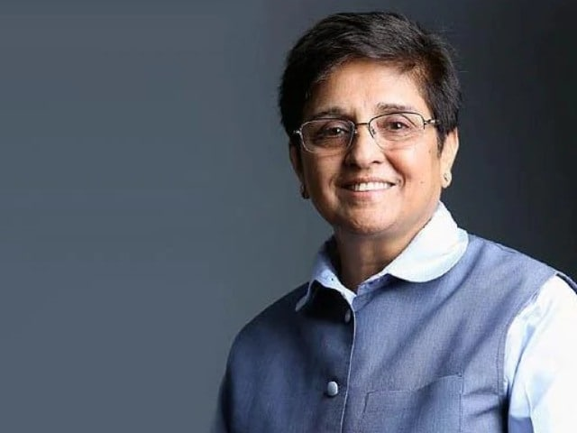 "Video : ""Whatever Was Done Was A Sacred Duty"": Kiran Bedi's Farewell Note"