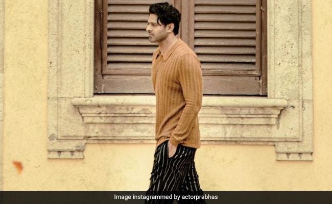 ICYMI: Prabhas' New Look From Radhe Shyam - NDTV