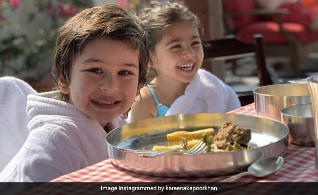 Kareena Kapoor's Caption For This Pic Of Taimur And Inaaya Is Pure Gold