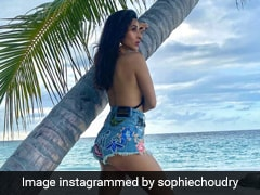 Sophie Choudry's Stylish Maldives Memories, In A Bikini And Shorts, Will Always Remain