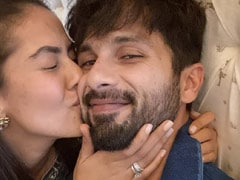 Shahid Kapoor And Mira Rajput In A Pic Of A Lifetime. His Caption, Uff