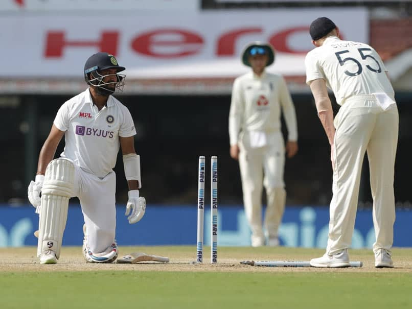India vs England: Cheteshwar Pujara Run Out In Bizarre Fashion In 1st Over On Day 3. Watch