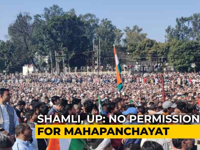 Video : Farmer Mahapanchayat Despite Ban On Large Gatherings