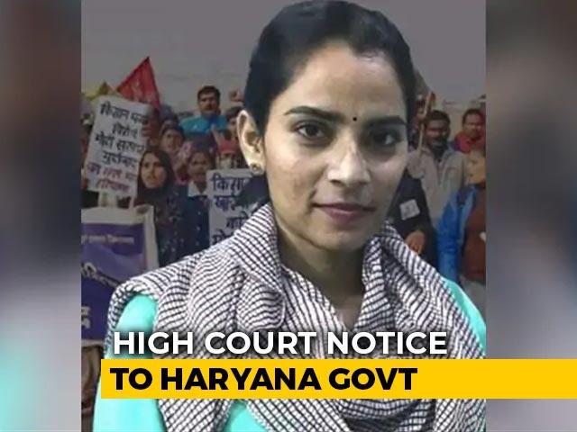 "Video : For Activist Nodeep Kaur's ""Illegal Confinement"", High Court Notice To Haryana"