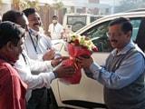 Video : Arvind Kejriwal's Thanksgiving Roadshow In Surat As AAP Enters Gujarat