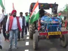 Farmers' Tractor Parade In Haryana On Independence Day