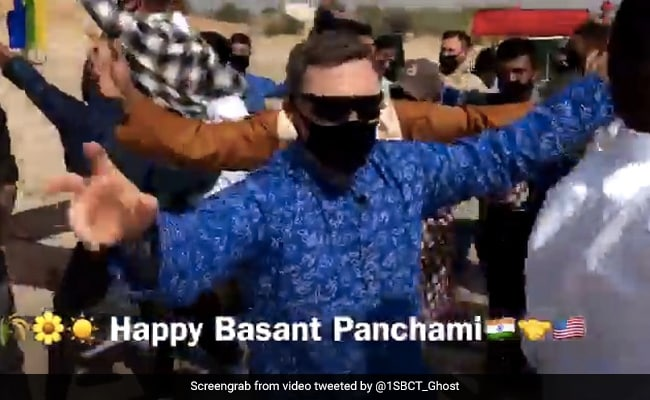 Watch: India, US Soldiers Dance To Punjabi Song '3 Peg'