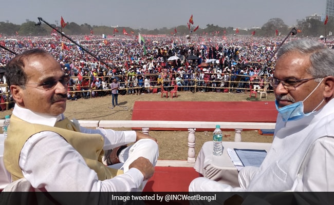 Left-Congress Flex Massive Crowd At Kolkata Rally, Slam Trinamool, BJP