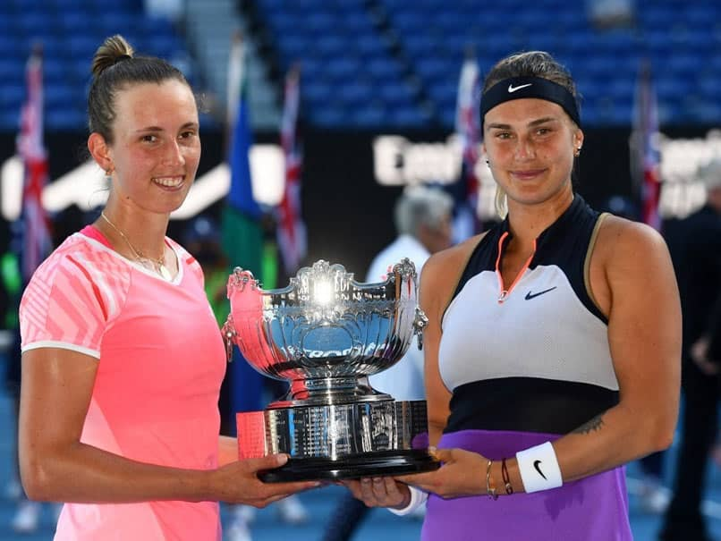 Australian Open: Elise Mertens-Aryna Sabalenka Win Womens Doubles Title