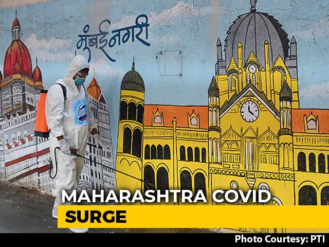 Video : Maharashtra Reports 8,000 Covid Cases For 4 Days In A Row