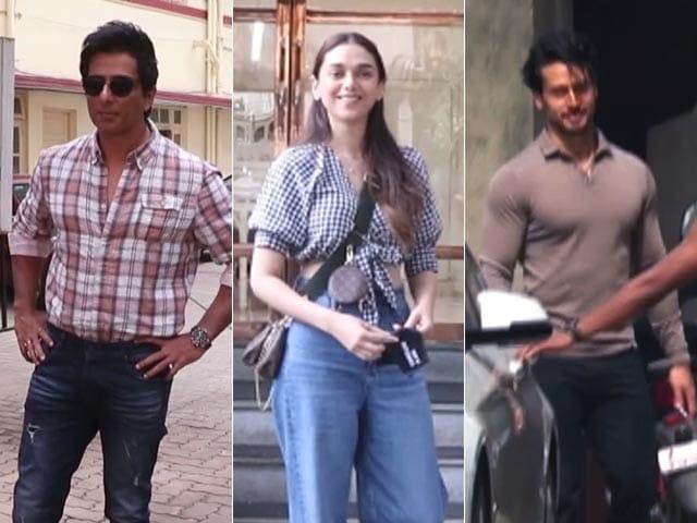 Video : Keeping Up With Sonu Sood, Aditi Rao Hydari And Tiger Shroff