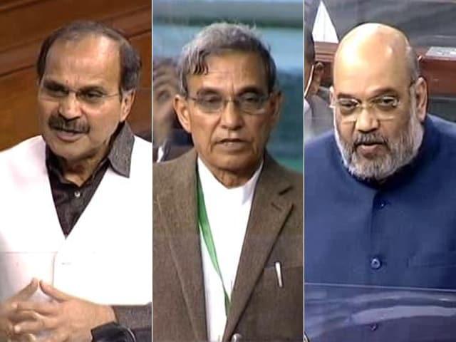 Video : Heated Debate In Lok Sabha Over J&K Reorganisation Amendment Bill