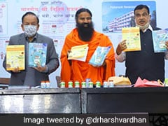 Ramdev Claims Patanjali's 'Coronil' For Covid Cleared, Can Be Exported