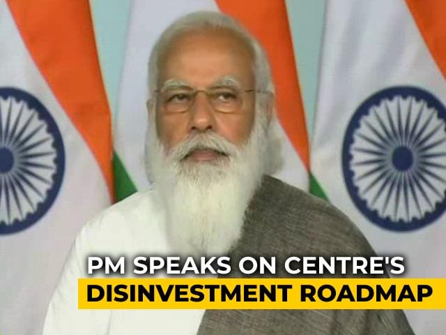 """Video : Government Has """"No Business To Be In Business"""": PM Narendra Modi"""