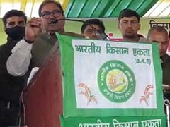 INLD's Abhay Chautala, Who Quit As Haryana MLA Last Week, Feted At <i>Mahapanchayat</i>