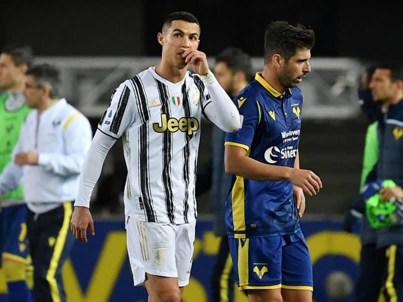 Serie A: Cristiano Ronaldo Scores As Juventus Held In Verona
